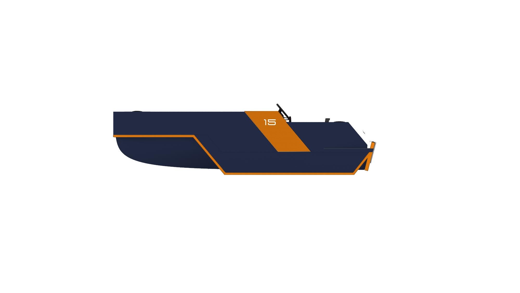 Darkblue Orange